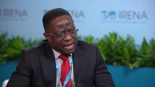 Honourable John Peter Amewu. Honourable Minister Ghana's Ministry of Energy. Distinguished Guest